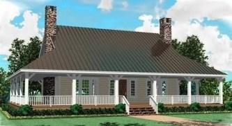 Creative Farmhouse House Plans Ideas With Wrap Around Porch30
