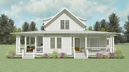 Creative Farmhouse House Plans Ideas With Wrap Around Porch33
