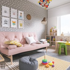 Creative Small Playroom Ideas For Kids14