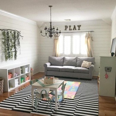 Creative Small Playroom Ideas For Kids15