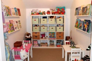 Creative Small Playroom Ideas For Kids19