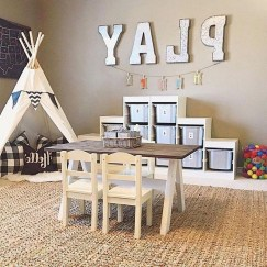 Creative Small Playroom Ideas For Kids29