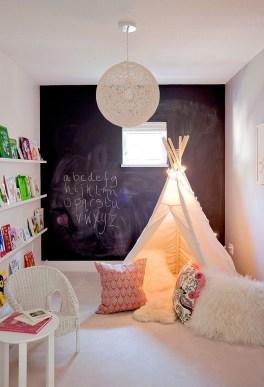 Creative Small Playroom Ideas For Kids37