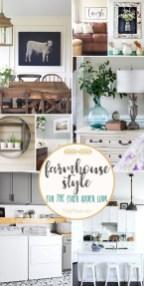 Elegant Antique Farmhouse Decoration Ideas For Home34