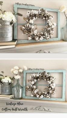 Elegant Antique Farmhouse Decoration Ideas For Home39