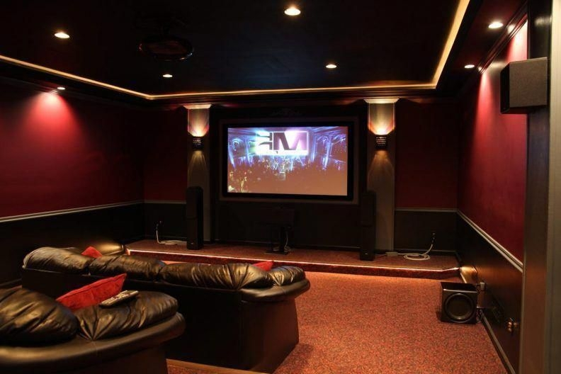 Inspiring Theater Room Design Ideas For Home14