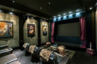 Inspiring Theater Room Design Ideas For Home17