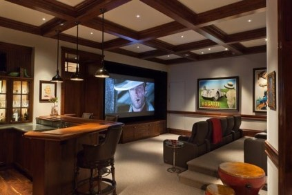 Inspiring Theater Room Design Ideas For Home18