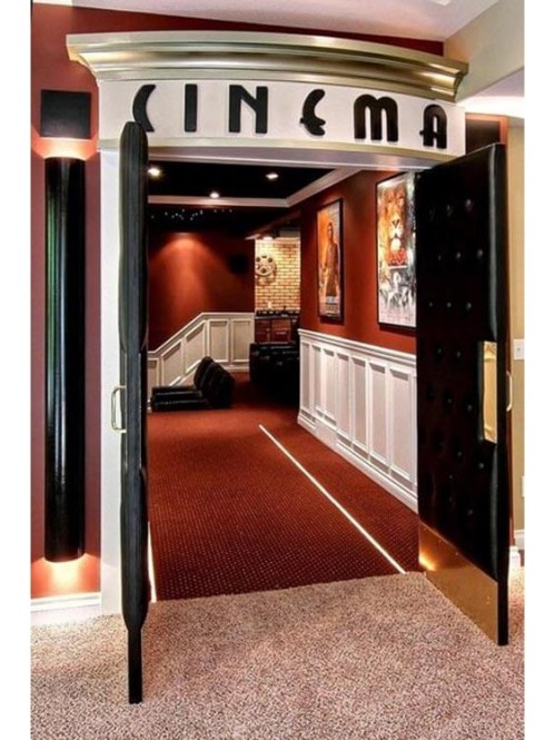 Inspiring Theater Room Design Ideas For Home26
