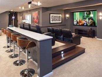 Inspiring Theater Room Design Ideas For Home33