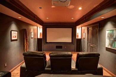 Inspiring Theater Room Design Ideas For Home34