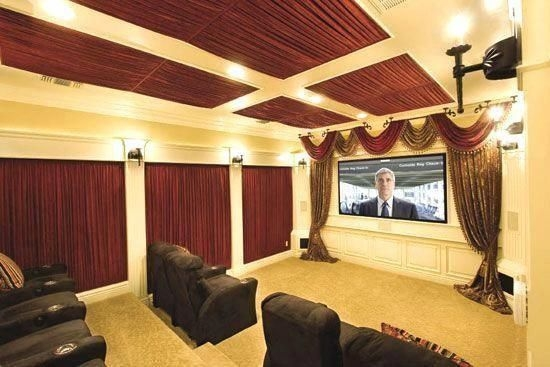 Inspiring Theater Room Design Ideas For Home36