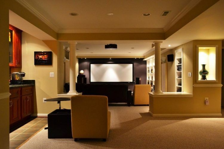 Inspiring Theater Room Design Ideas For Home40