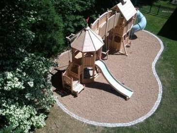 Magnificient Gravel Landscaping Design Ideas For Backyard12