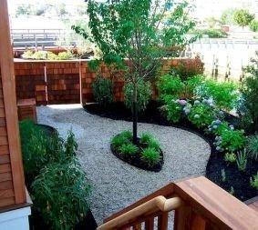 Magnificient Gravel Landscaping Design Ideas For Backyard16