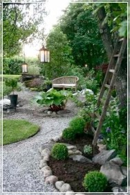 Magnificient Gravel Landscaping Design Ideas For Backyard17