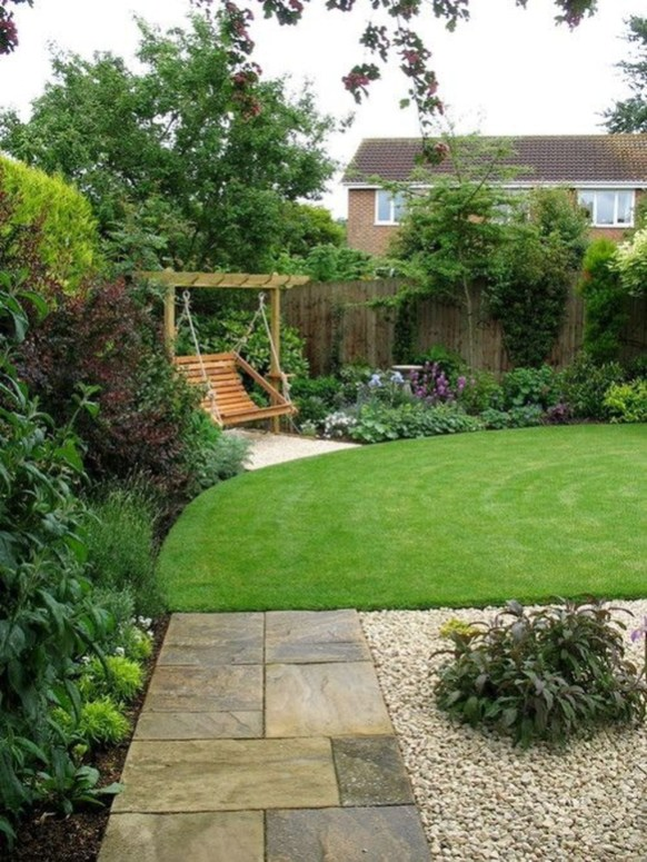 Magnificient Gravel Landscaping Design Ideas For Backyard19