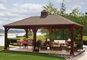 Modern Wood Pavilion Design Ideas For Backyard04