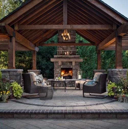 Modern Wood Pavilion Design Ideas For Backyard06