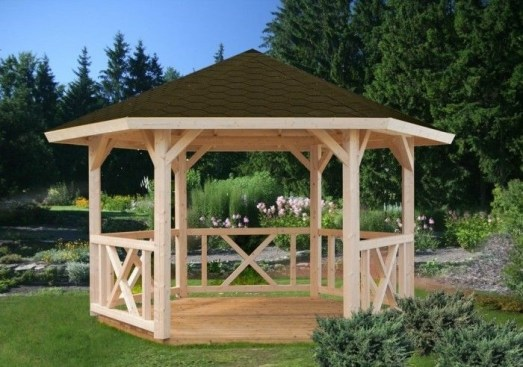 Modern Wood Pavilion Design Ideas For Backyard29