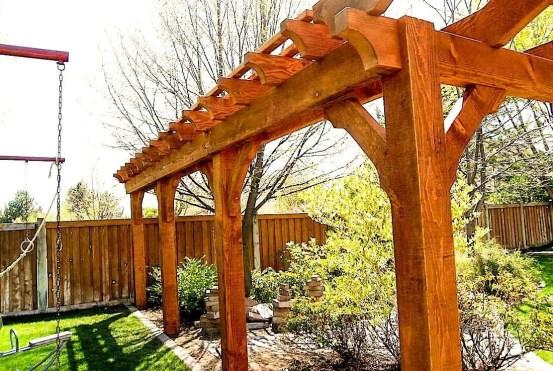 Modern Wood Pavilion Design Ideas For Backyard35