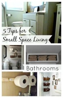 Outstanding Bathroom Makeovers Ideas For Small Space09