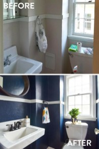 Outstanding Bathroom Makeovers Ideas For Small Space14