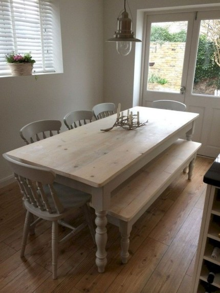 Stunning Dining Tables Design Ideas For Small Space40