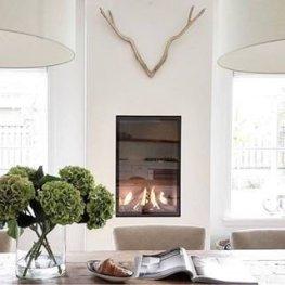 Unique Farmhouse Fireplace Design Ideas For Living Room03