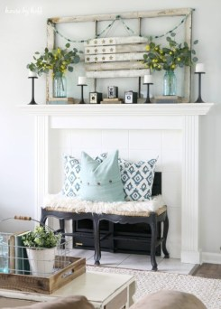 Unique Summer Decor Ideas For Living Room36