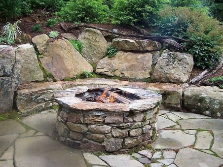 Beautiful Outdoor Fire Pits Ideas18
