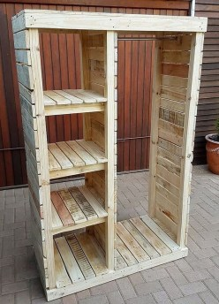 Beautiful Furniture Ideas With Pallet For You 48