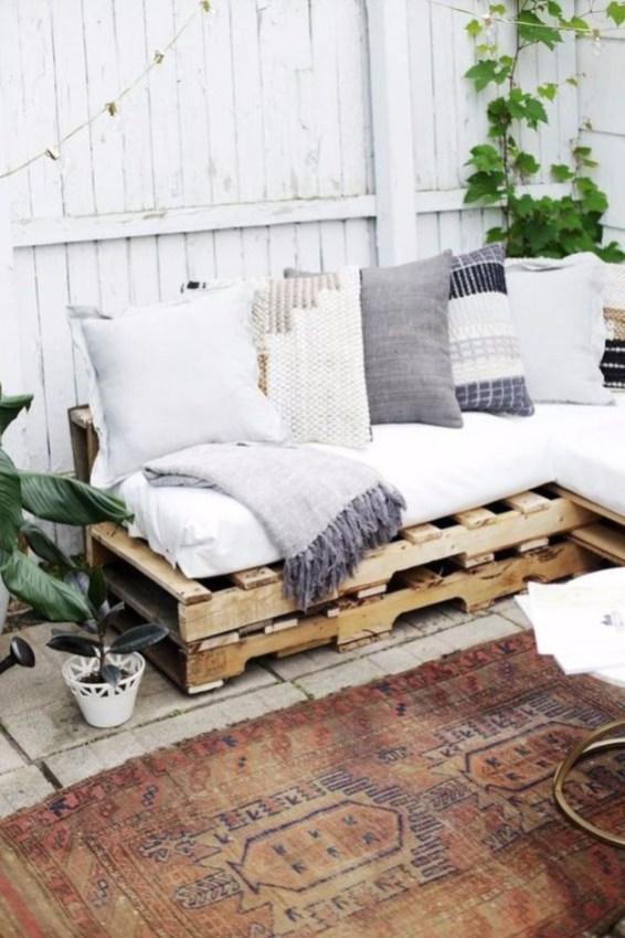 Beautiful Furniture Ideas With Pallet For You 55