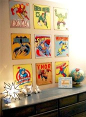 Best Memorable Childrens Bedroom Ideas With Superhero Posters 03