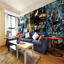 Best Memorable Childrens Bedroom Ideas With Superhero Posters 20