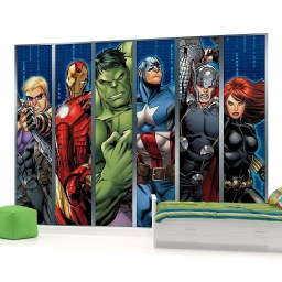 Best Memorable Childrens Bedroom Ideas With Superhero Posters 38
