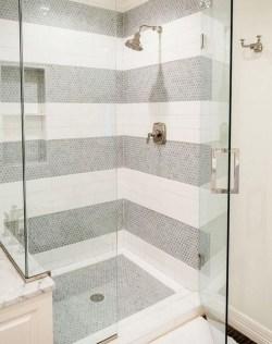 Brilliant Bathroom Tile Design Ideas That Very Inspiring 40