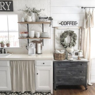 Casual Diy Farmhouse Kitchen Decor Ideas To Apply Asap 18