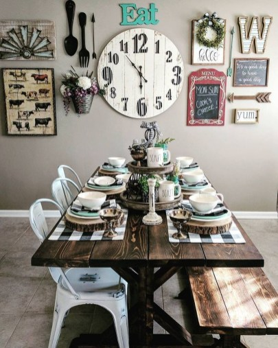 Casual Diy Farmhouse Kitchen Decor Ideas To Apply Asap 36