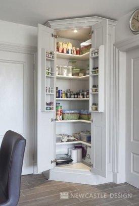 Catchy Kitchen Pantry Design Ideas18