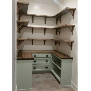 Catchy Kitchen Pantry Design Ideas19