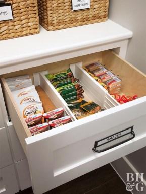 Catchy Kitchen Pantry Design Ideas33