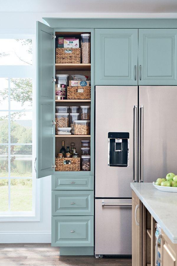 41 Catchy Kitchen Pantry Design Ideas - ZYHOMY