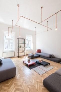 Cozy Interior Design Ideas With Lighting Combinations42