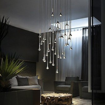Cozy Interior Design Ideas With Lighting Combinations48