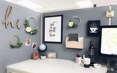 Creative Diy Cubicle Decor Ideas For Working Space 37