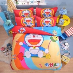 Impressive Kids Bedroom Ideas With Doraemon Themes06