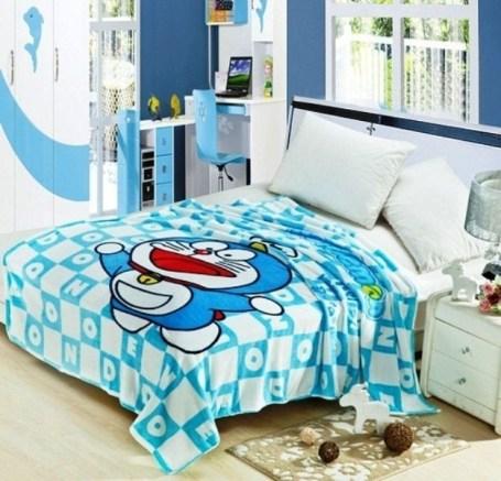 Impressive Kids Bedroom Ideas With Doraemon Themes19