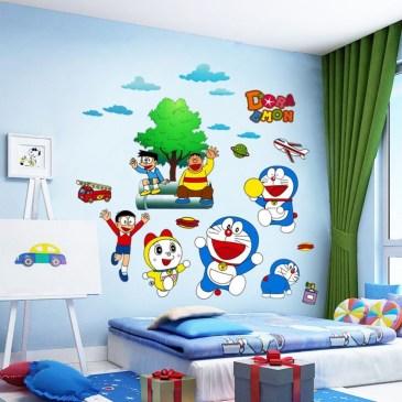 Impressive Kids Bedroom Ideas With Doraemon Themes22