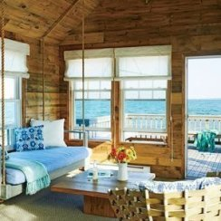 Inspiring Living Room Ideas With Beachy And Coastal Style05